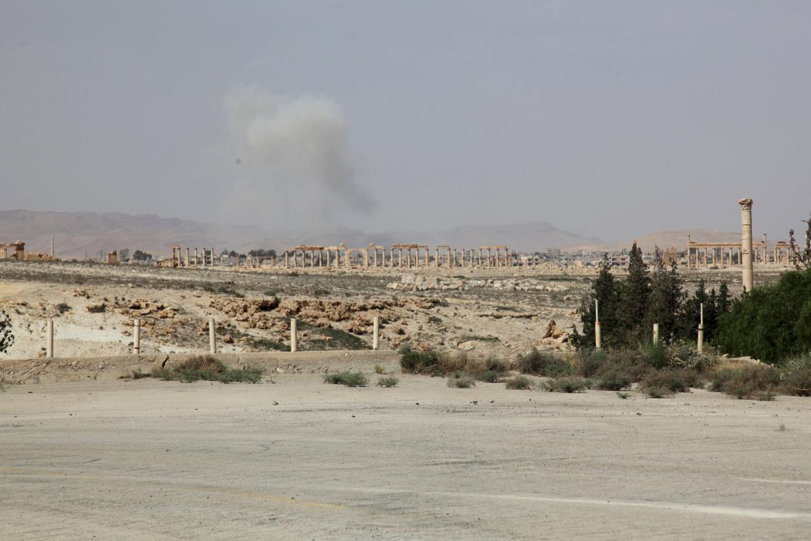 Boje u Palmýry