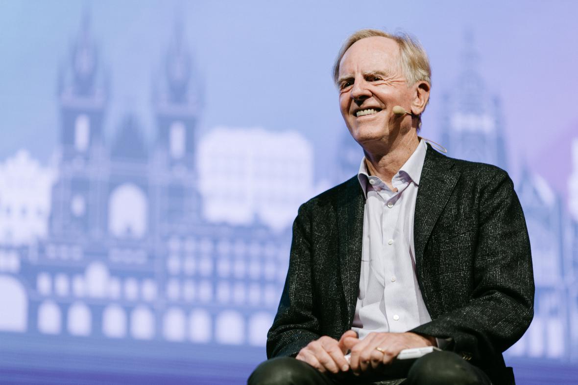 John Sculley na konferenci Engage 2015 v Praze