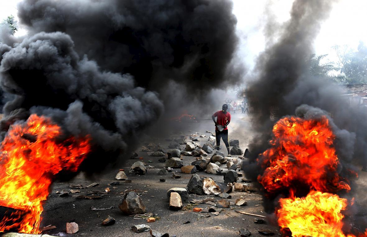 Protesty v Burundi