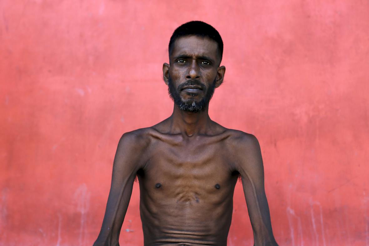 Barmský uprchlík v Acehu