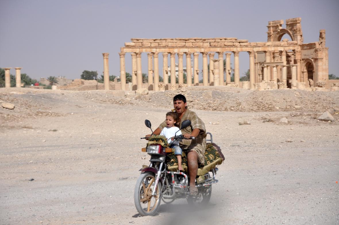 Syrská Palmýra