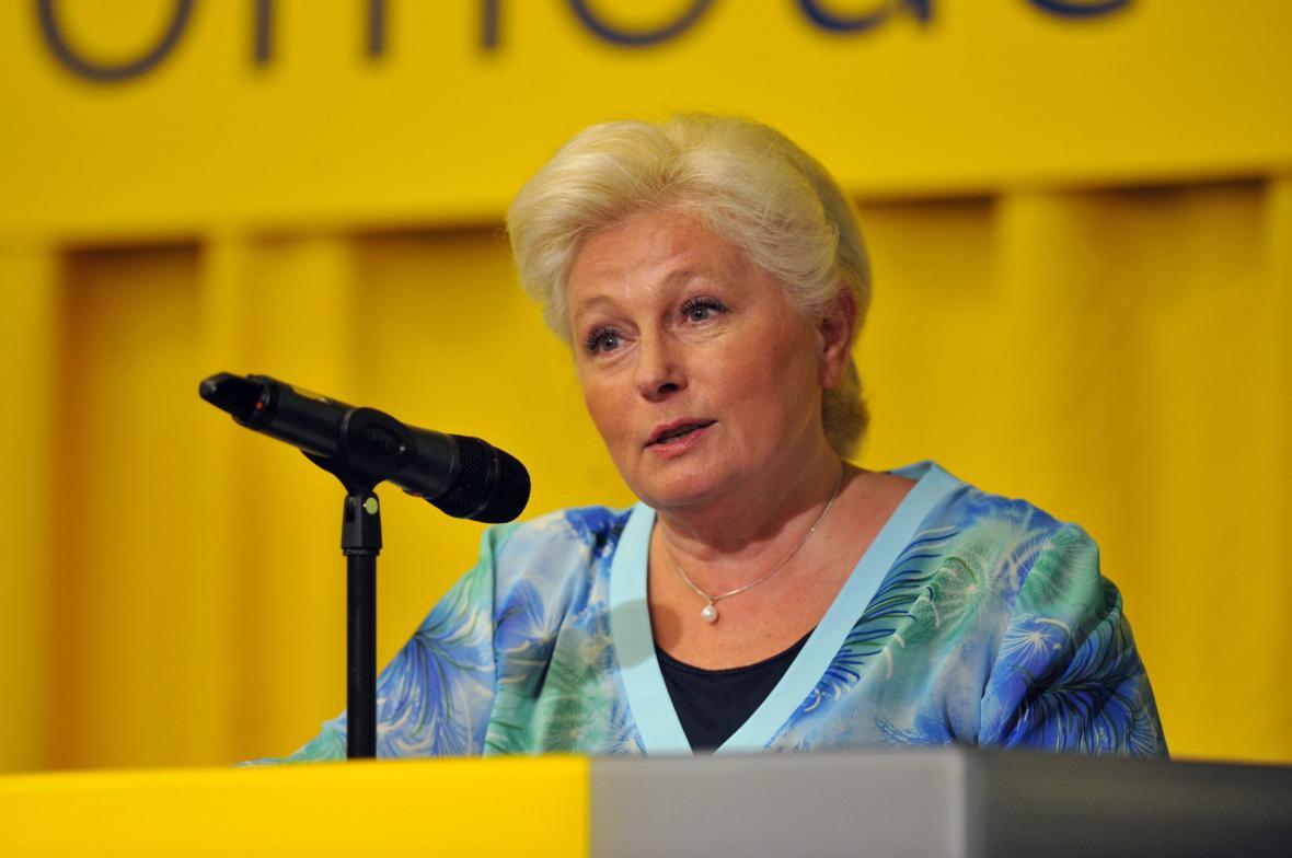 Místopředsedkyně KDU-ČSL Zuzana Roithová