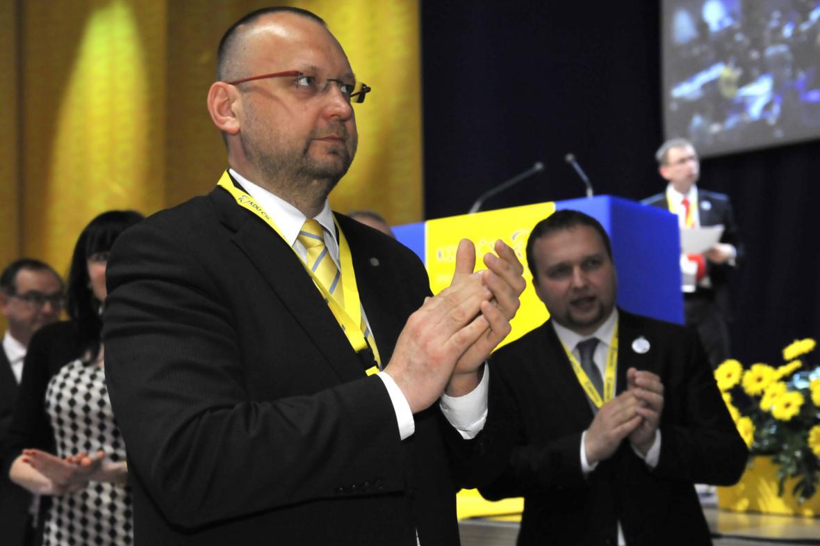 Místopředseda KDU-ČSL Jan Bartošek
