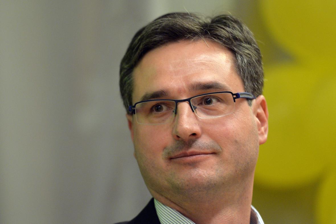 Místopředseda KDU-ČSL Ondřej Benešík