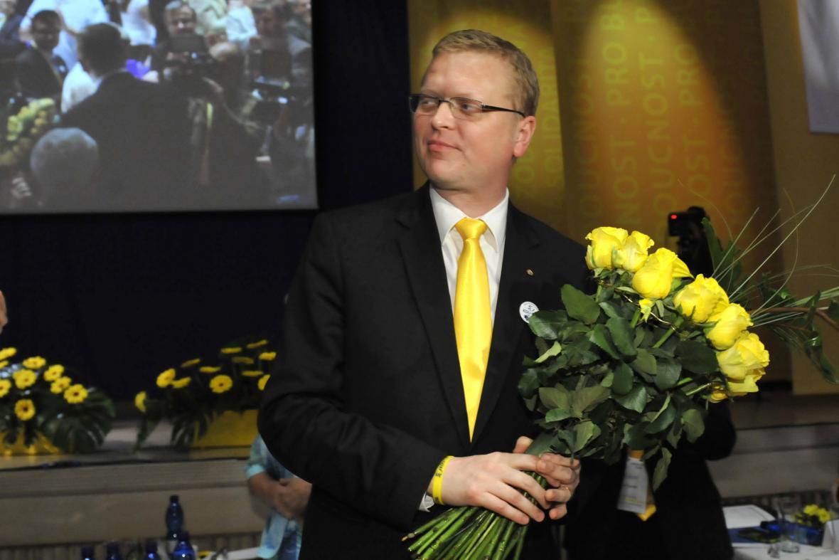 Staronový předseda KDU-ČSL Pavel Bělobrádek