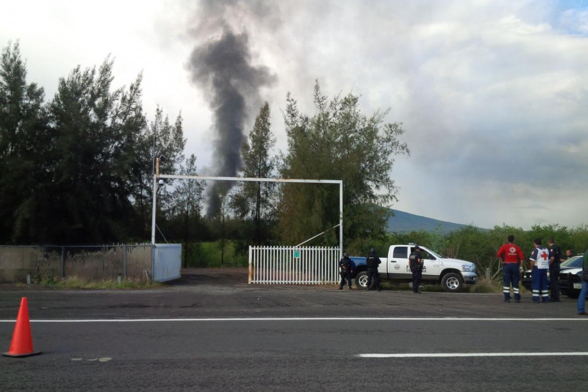 Přestřelka na mexickém ranči