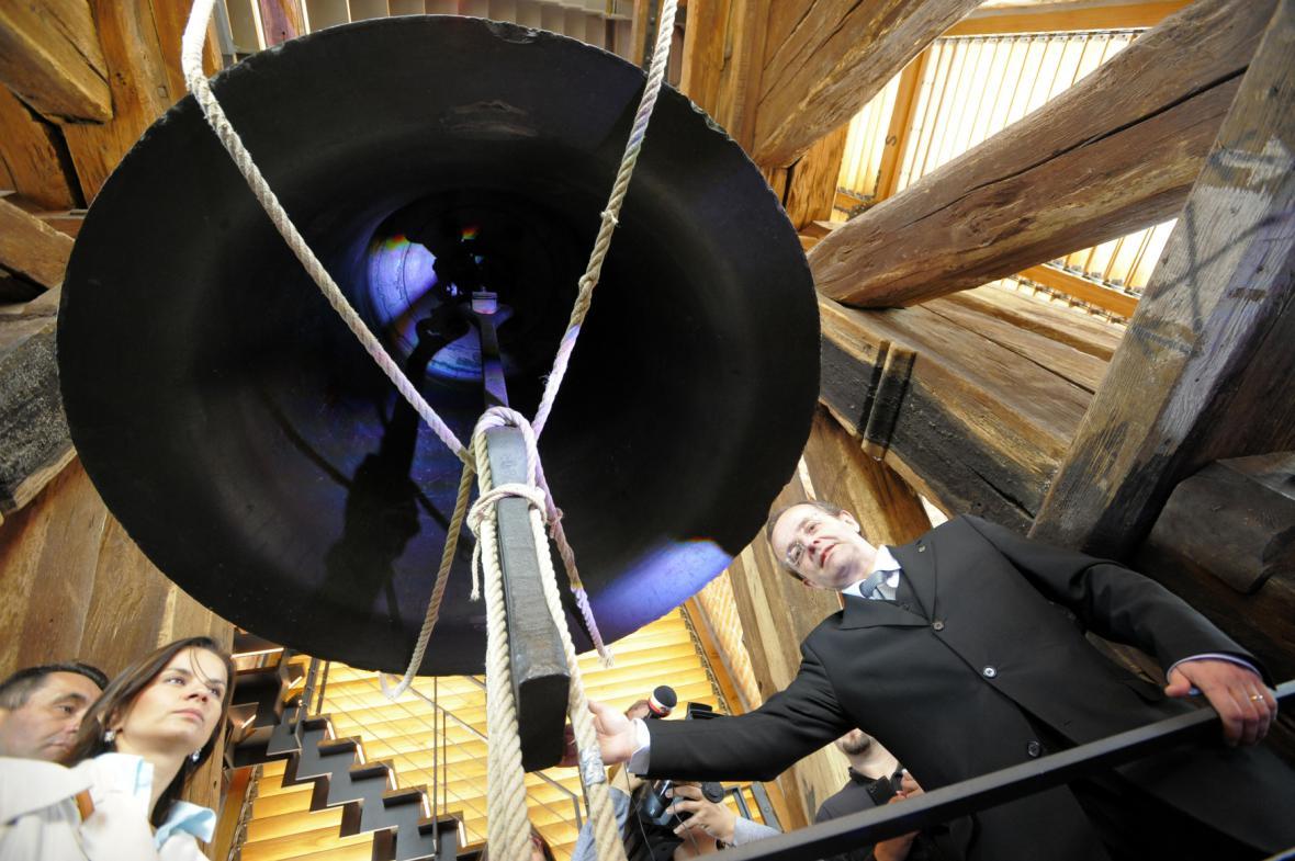 Zvon Augustin Bílé věže