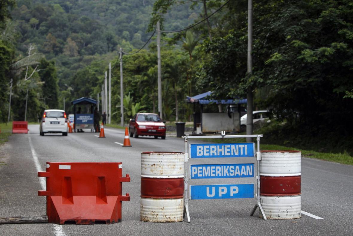 Malajsko-thajská hranice