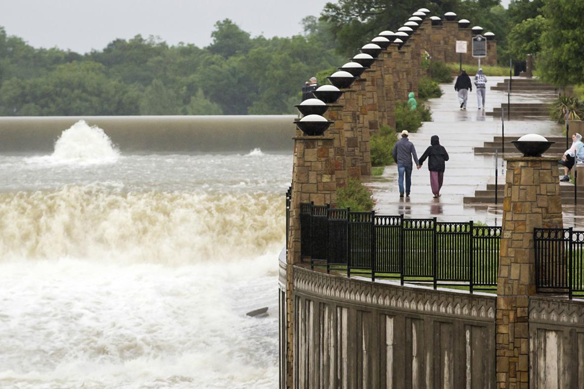 Velká voda v Dallasu