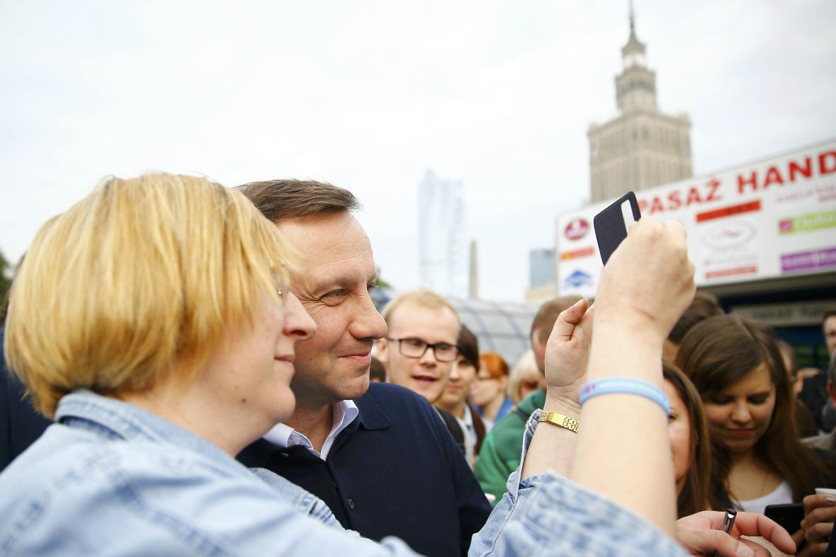 Selfie s prezidentem