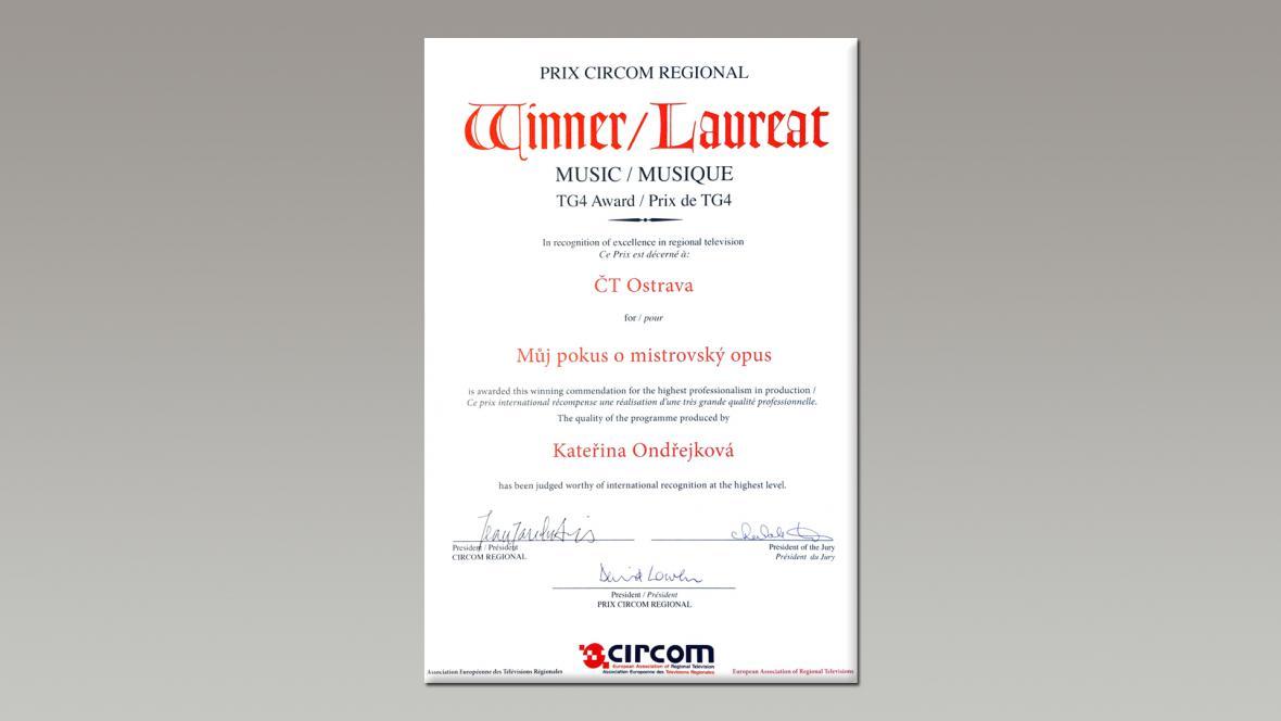 Prix CIRCOM Regional