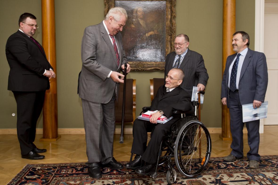 Miloš Zeman a Václav Krása