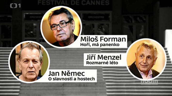 V roce 1968 mělo Československo hned tři snímky v hlavní soutěži v Cannes