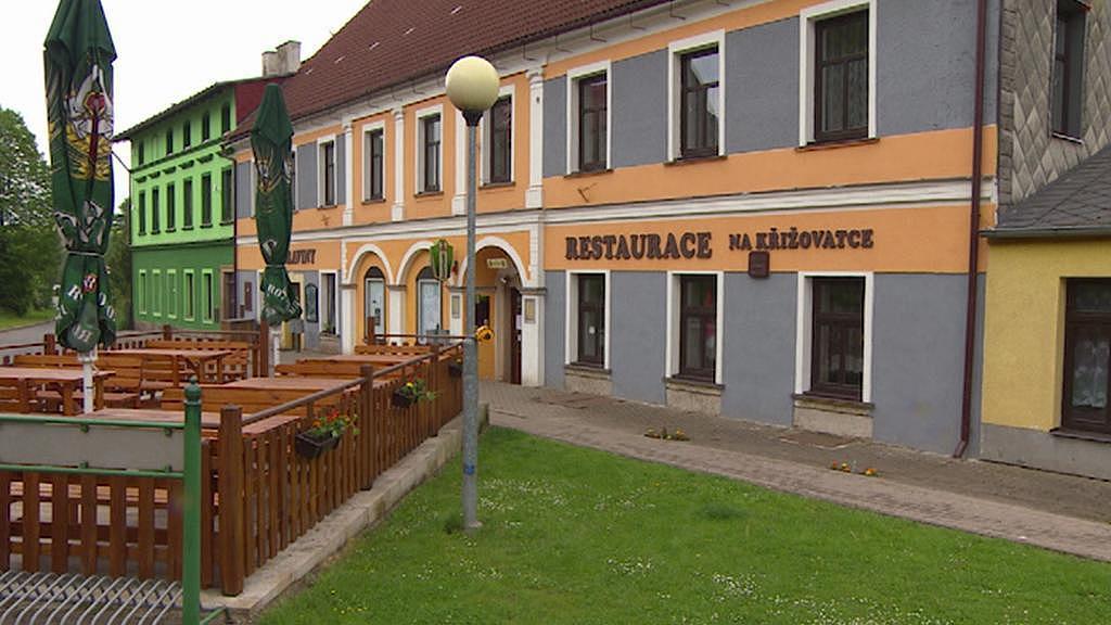 Restaurace v Božanově, kterou provozuje obec