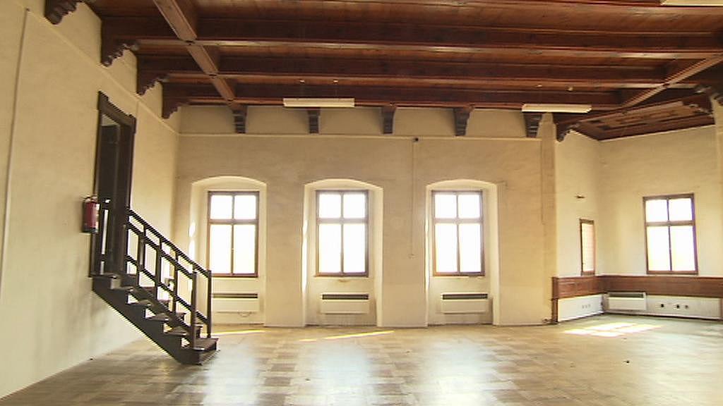 Interiér zámku v Přerově nad Labem