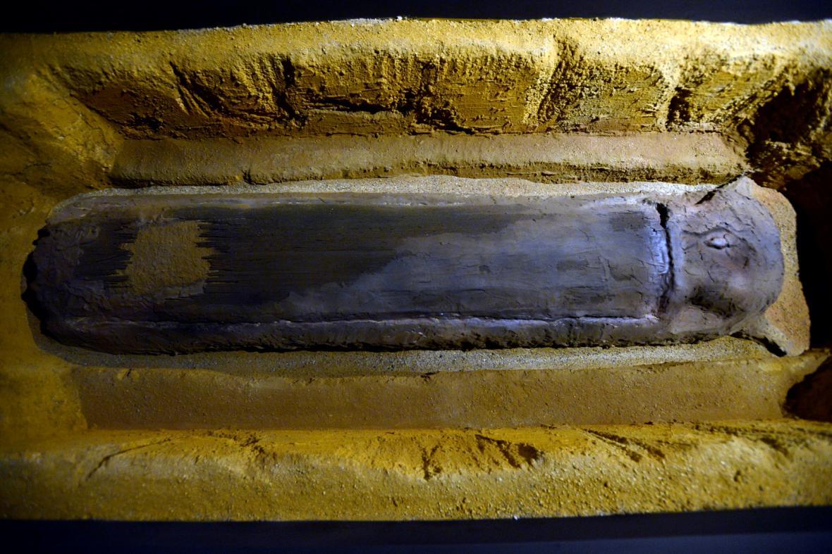Z výstavy Hroby barbarů