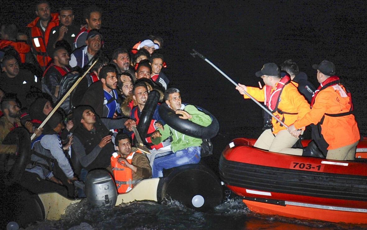 Uprchlíci u tureckých hranic