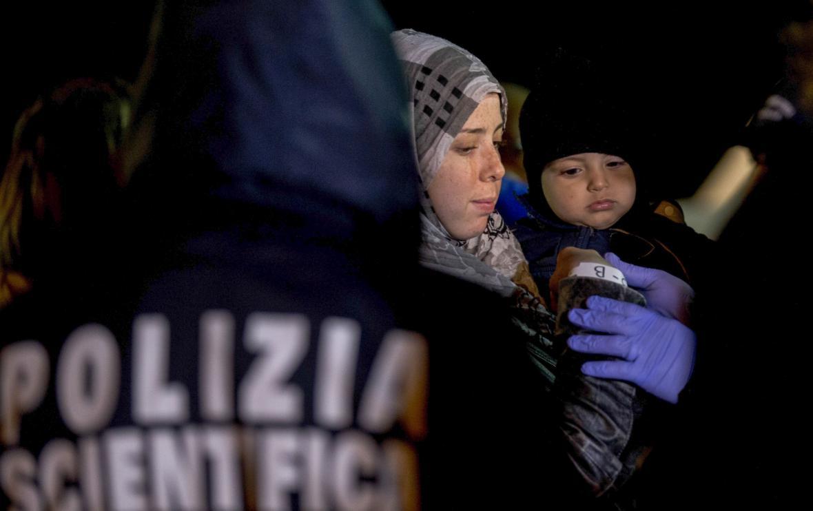 Imigranti v Itálii