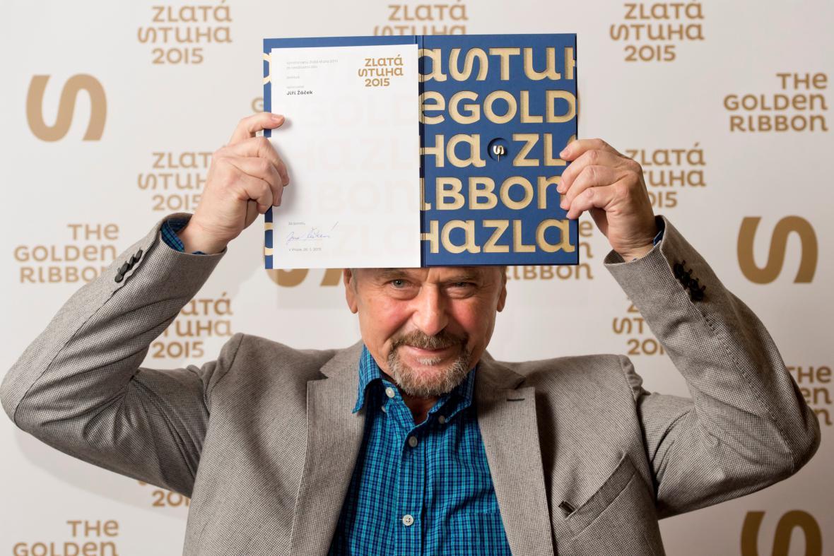 Jiří Žáček se Zlatou stuhou