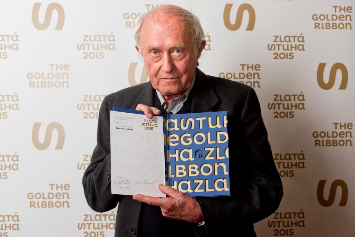 Stanislav Kolíbal se Zlatou stuhou