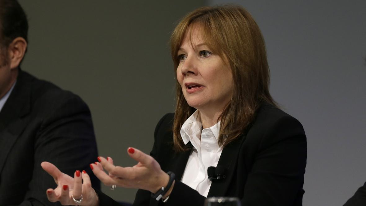 Šéfka General Motors Mary Barraová