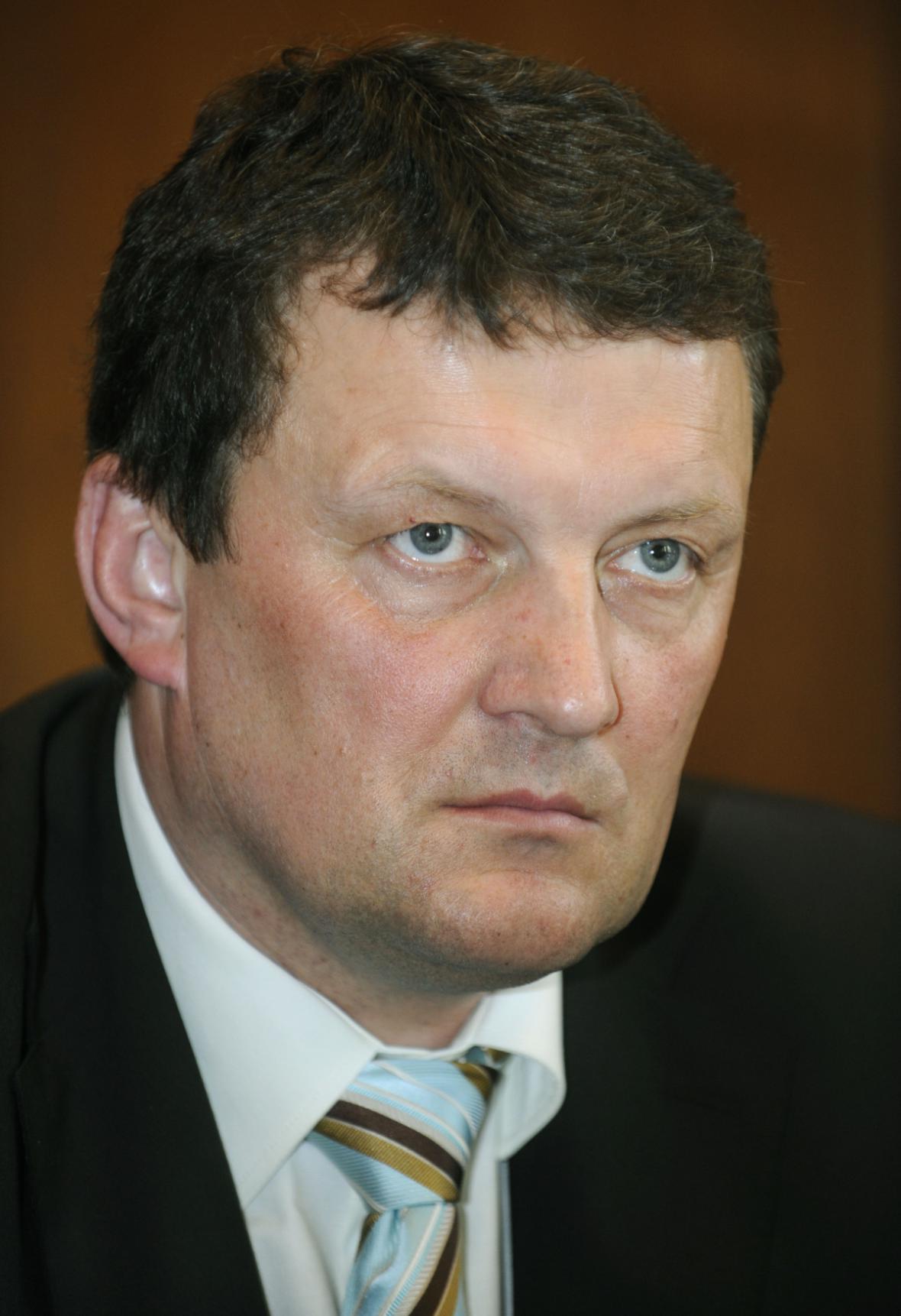 Jiří Novák na archivním snímku z roku 2008