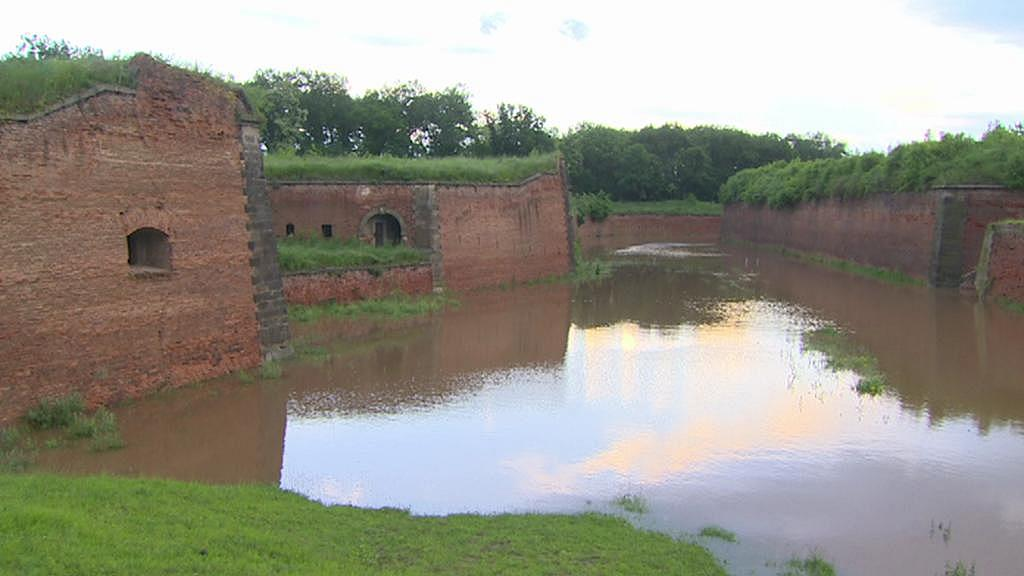 Archivní záběr - povodně v Terezíně