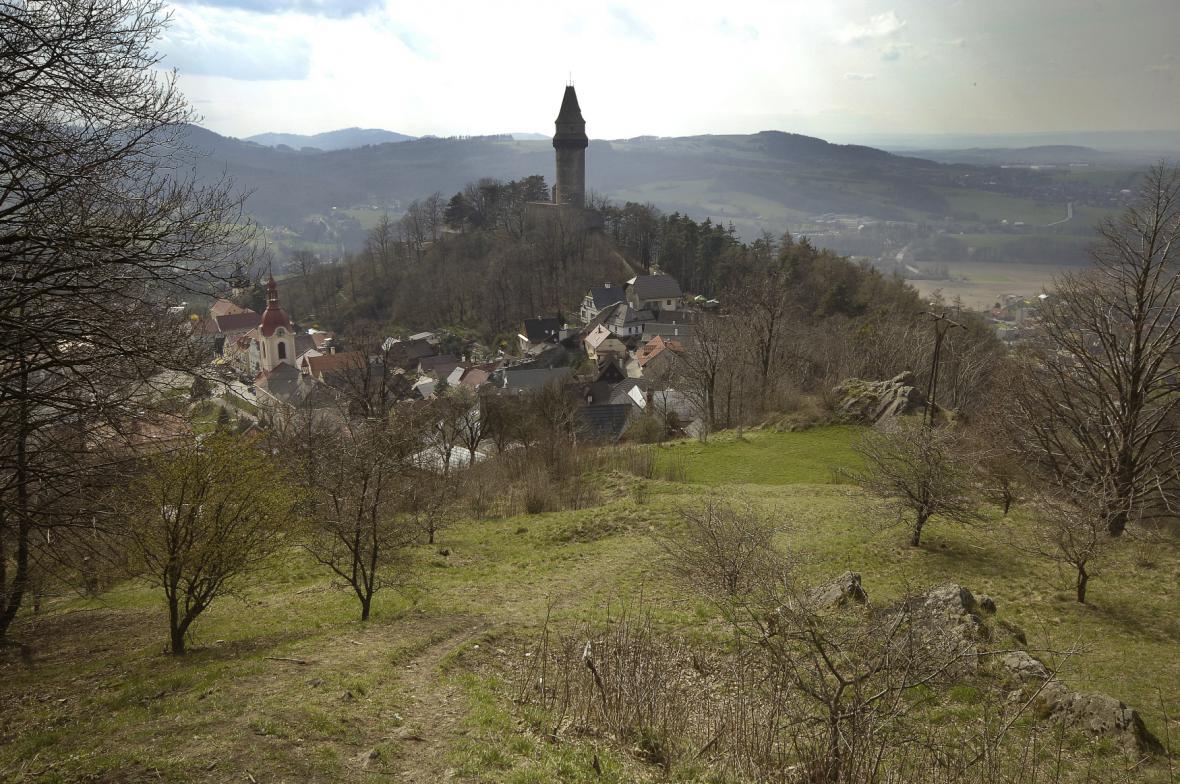 Hrad Trúba ve Štramberku