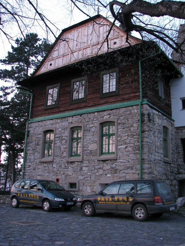 Turistická chata dr. Hrstky ve Štramberku