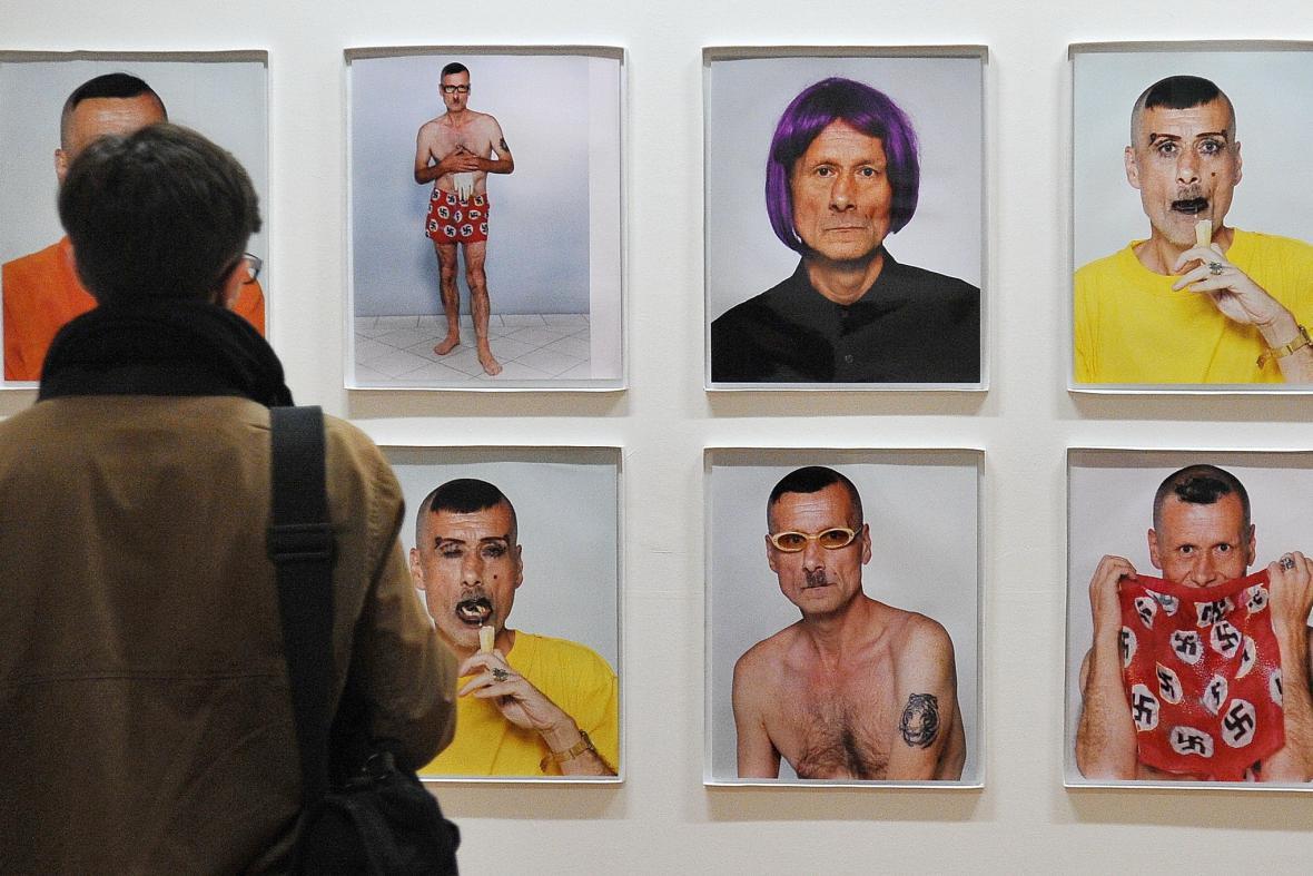 Výstava Václava Stratila Nedělám nic a jiné práce