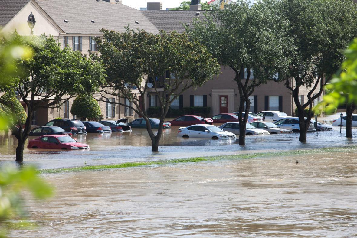 Záplavy v Houstonu (Texas)
