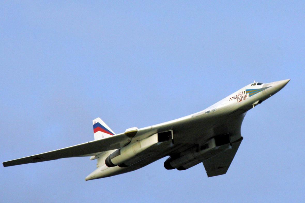 Ruský strategický bombardér Tu-160