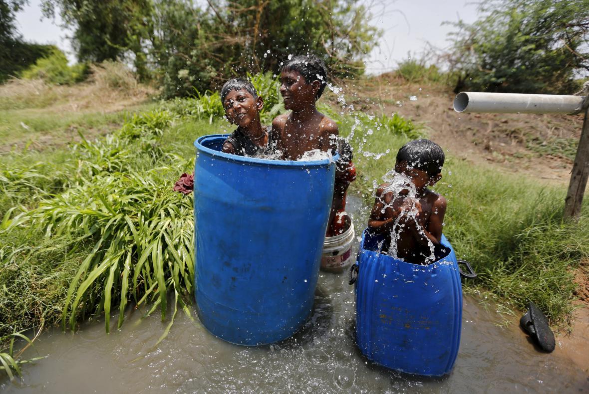 Vlna veder v Indii