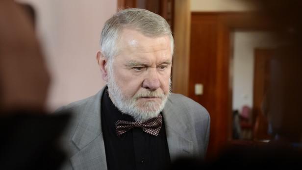Jaromír Štětina na schůzi Senátu