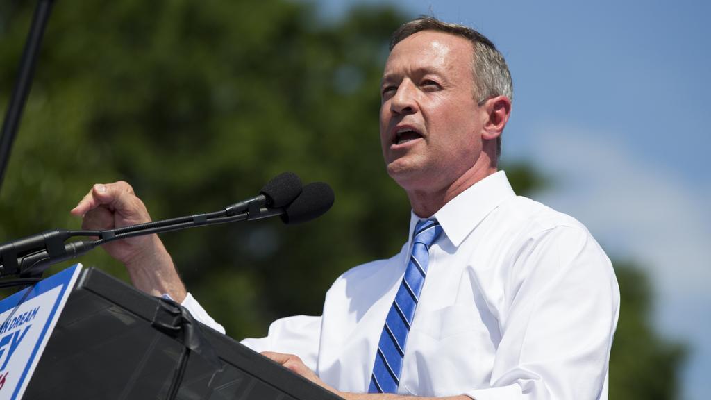 Kandidát demokratů Martin O'Malley