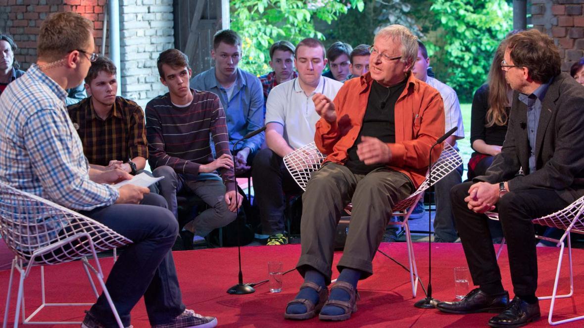 Geolog Václav Cílek a sociolog Tomáš Kostelecký jako hosté Fokusu VM