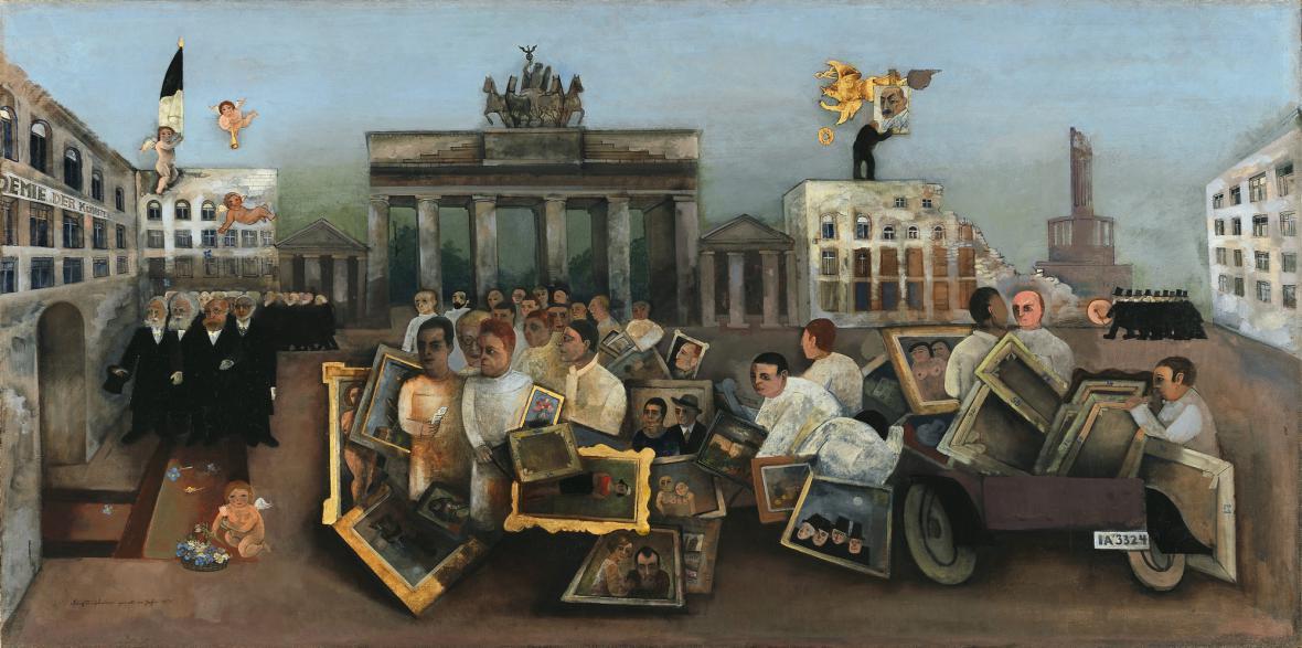 Felix Nussbaum / Úžasné místo, 1931