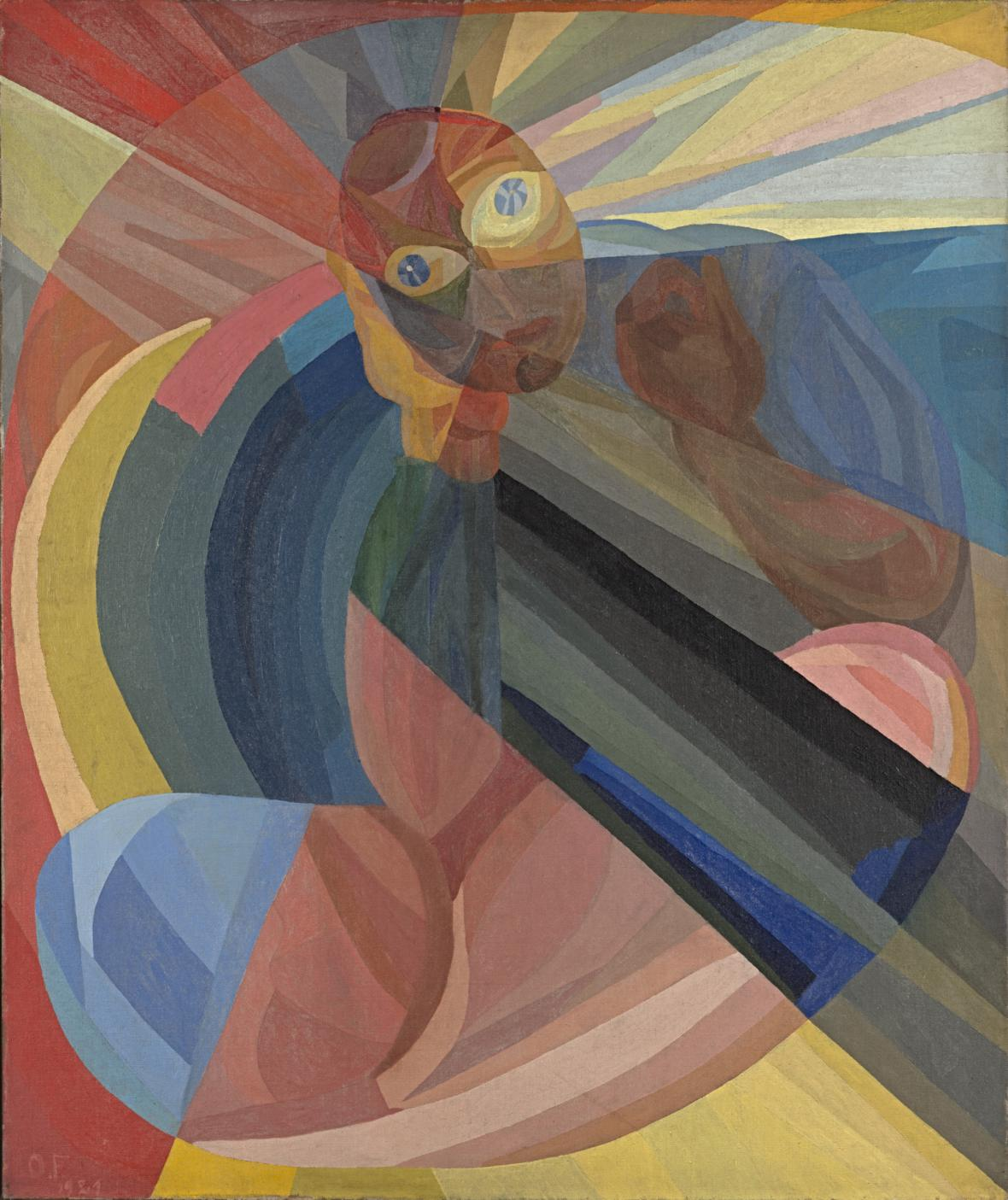 Otto Freundlich / Matka, 1921