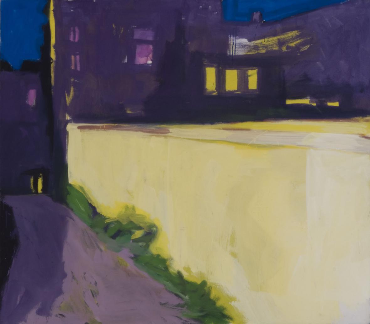 Rainer Fetting / Žlutá zeď, 1977