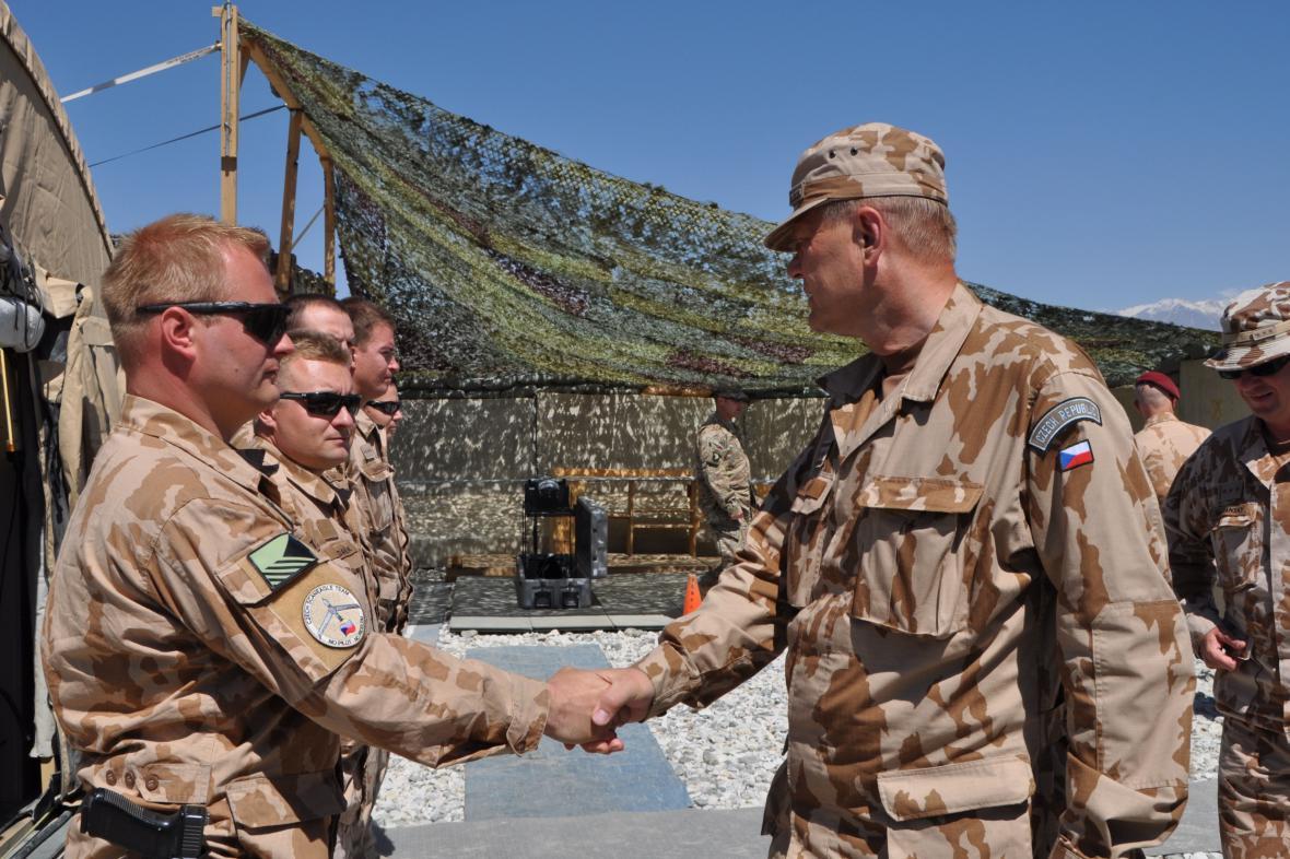Josef Bečvář v Afghánistánu