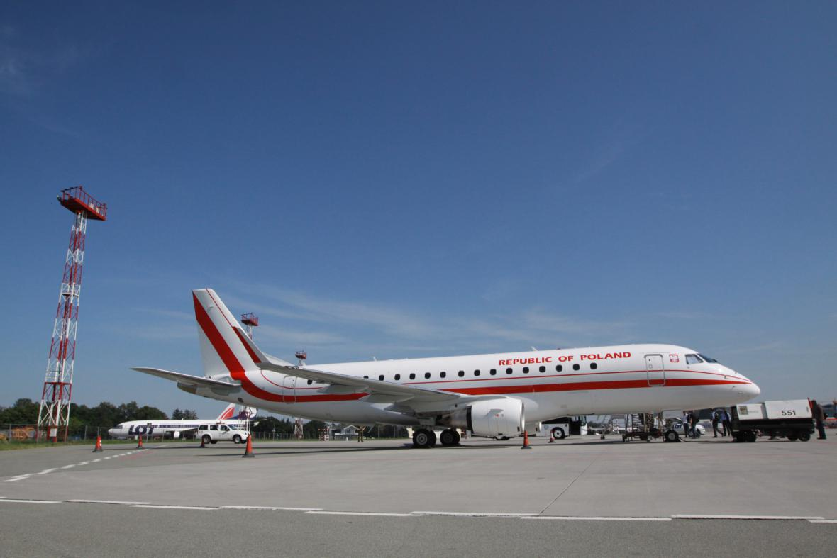 Polský vládní letoun