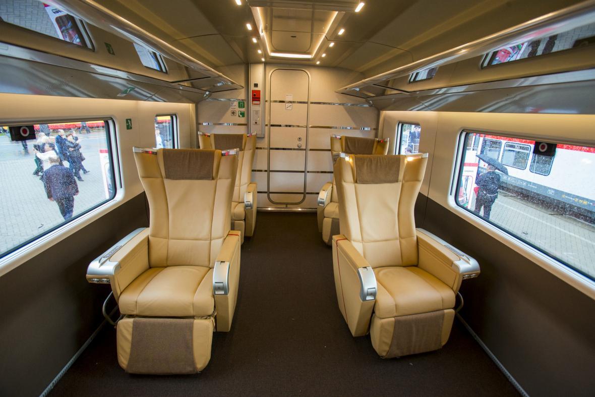 Frecciarossa 1000 poskytne cestujícím ohromné pohodlí