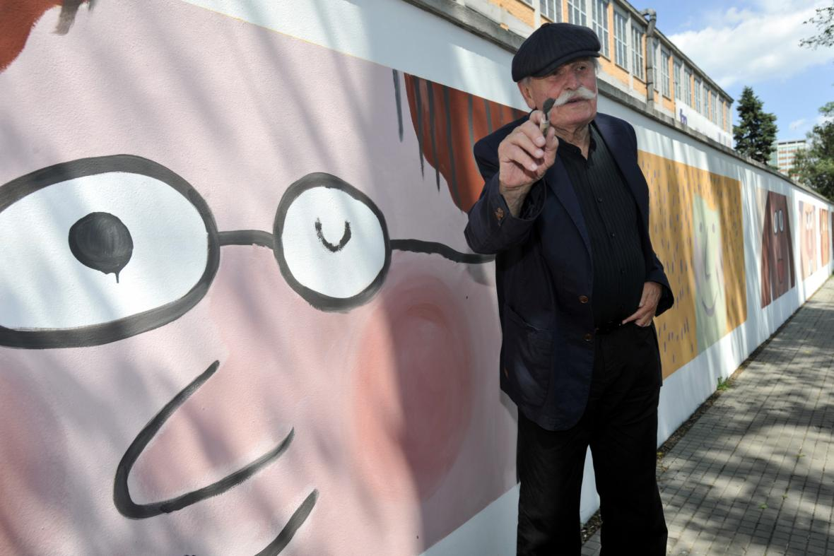 Adolf Born na zlínském filmovém festivalu