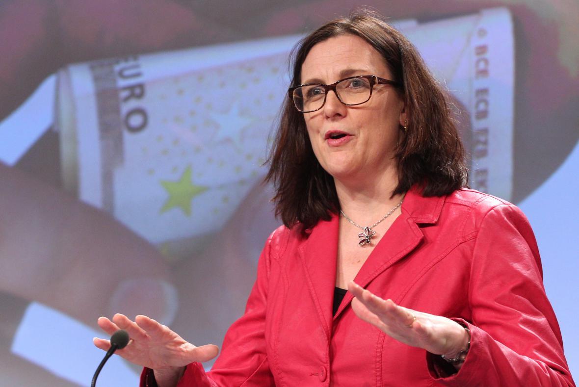 Cecilia Malmströmová, eurokomisařka pro obchod