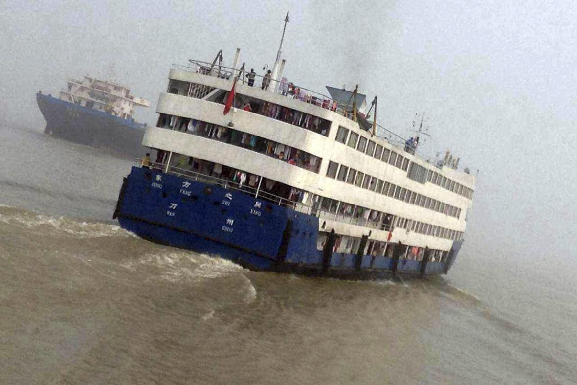 Východní hvězda - loď, která se potopila na řece Jang-c-ťiang