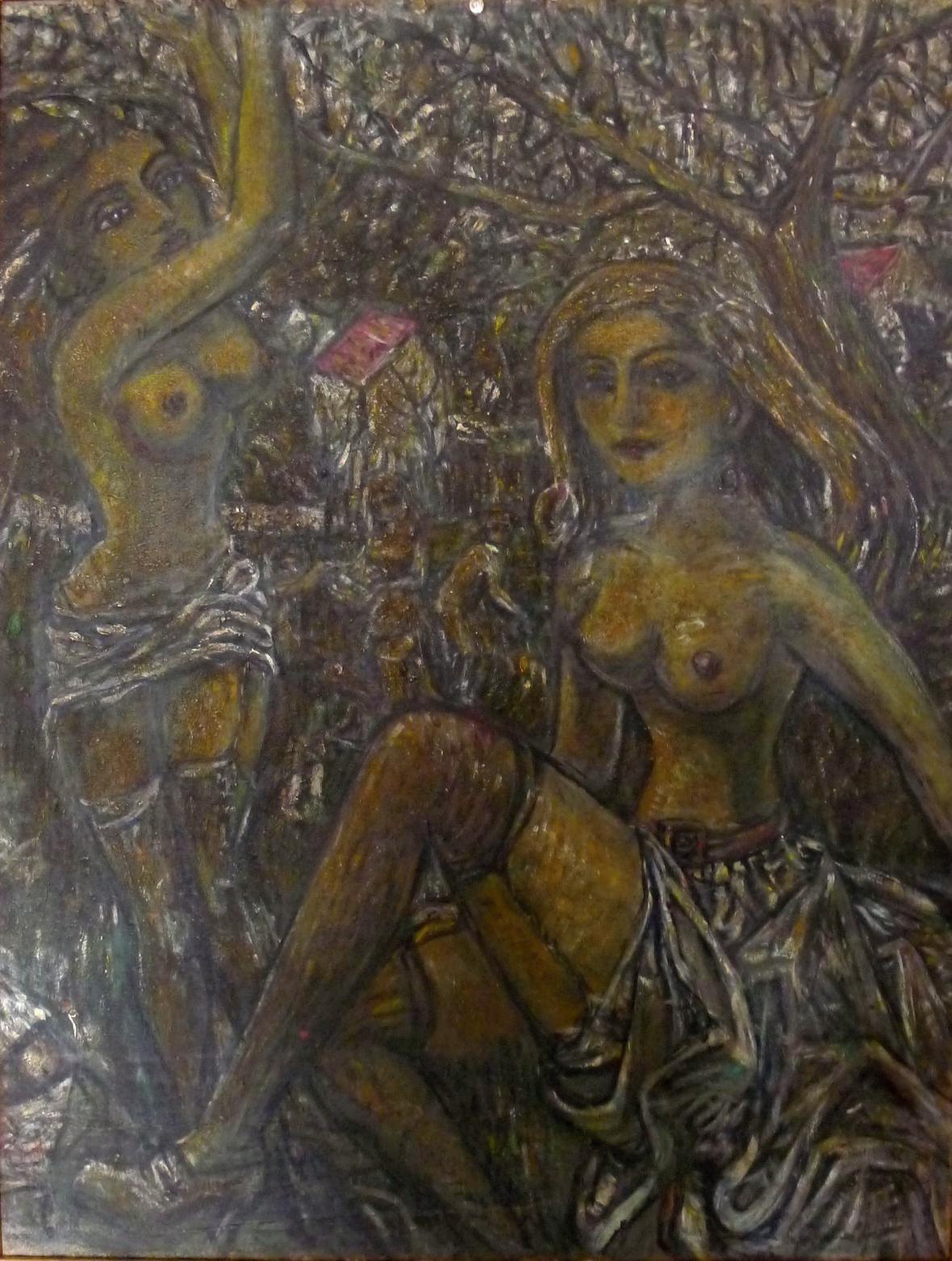 Miroslav Tichý: malba olej