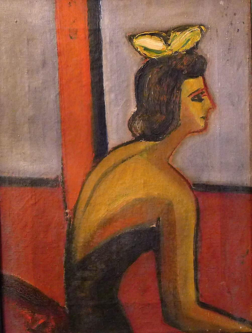 Miroslav Tichý: kresba akvarelem