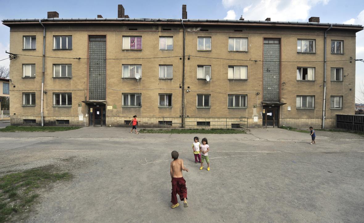 Ubytovna v Cihelní ulici v Ostravě