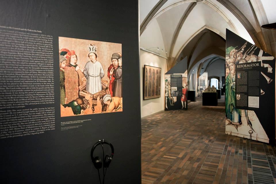 Výstava Jan Hus a pražská univerzita