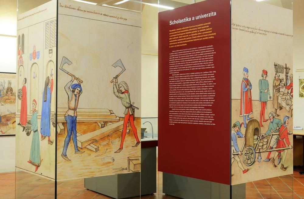Výstava Jan Hus. Problém přijmout svobodu
